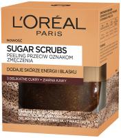 L'Oréal - SUGAR SCRUBS - Peeling przeciw oznakom zmęczenia