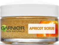 GARNIER - APRICOT SCRUB - Intensywnie oczyszczający peeling morelowy do twarzy - 50 ml