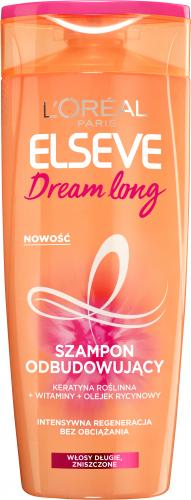 L'Oréal - ELSEVE Dream Long Shampoo - Odbudowujący szampon do włosów - 400 ml