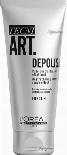 L'Oréal Professionnel - TECNI ART. DEPOLISH - Destructuring Paste - Matująca pasta strukturyzująca do włosów - Force 4 - 100 ml