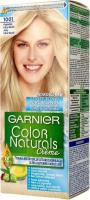 GARNIER - COLOR NATURALS Creme - Trwała, odżywcza koloryzacja do włosów - 1001 Popielaty, Ultra Blond