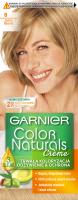 GARNIER - COLOR NATURALS Creme - Trwała, odżywcza koloryzacja do włosów - 8 Jasny Blond