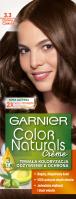 GARNIER - COLOR NATURALS Creme - Trwała, odżywcza koloryzacja do włosów - 3.3 Ciemna Czekolada