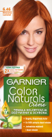 GARNIER - COLOR NATURALS Creme - Permanent, nourishing hair coloring - 6.46 Copper Red