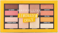 MAYBELLINE - LEMONADE CRAZE Eyeshadow Palette - Paleta 12 cieni do powiek