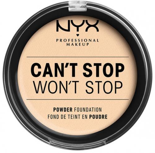 NYX Professional Makeup - CAN'T STOP WON'T STOP POWDER FOUNDATION  - Podkład do twarzy w pudrze