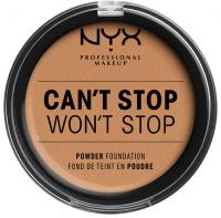 NYX Professional Makeup - CAN'T STOP WON'T STOP POWDER FOUNDATION  - Podkład do twarzy w pudrze - 10.3 - NATURAL BUFF