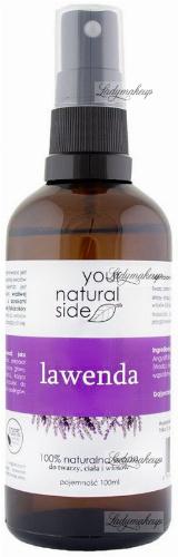 Your Natural Side - 100% naturalna woda lawendowa - 100 ml - Spray