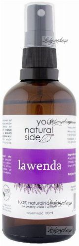 Your Natural Side - 100% Natural Lavender Water - 100 ml - Spray