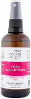 Your Natural Side - 100% Natural Damascene Rose Water - 100 ml