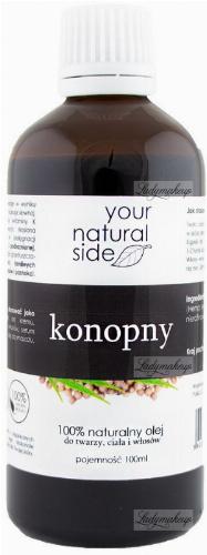 Your Natural Side - 100% naturalny olej konopny - 100 ml