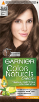 GARNIER - COLOR NATURALS Creme - Permanent, nourishing hair coloring - 6.00 Light Brown