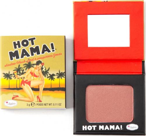 THE BALM - HOT MAMA! - Mini róż do policzków - 3 g