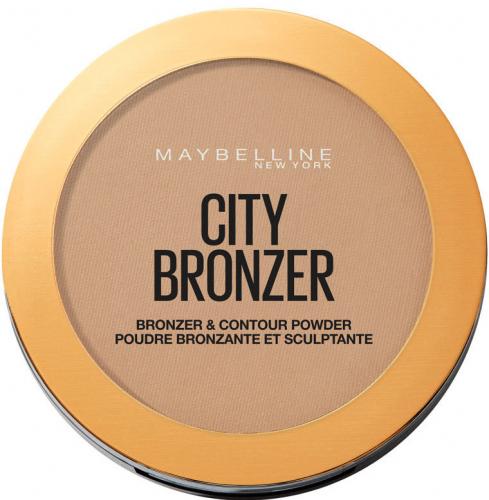 MAYBELLINE - CITY BRONZER - BRONZER & CONTOUR POWDER - Bronzer do twarzy