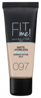 MAYBELLINE - FIT ME! Liquid Foundation For Normal To Oily Skin - 97 NATURAL PORCELAIN - 97 NATURAL PORCELAIN