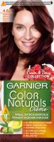 GARNIER - COLOR NATURALS Creme - Cream & Berry Collection - Trwała, odżywcza koloryzacja do włosów - 4.62 Słodka Wiśnia