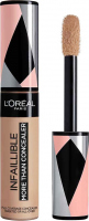 L'Oréal - INFAILLIBLE - MORE THAN CONCEALER - FULL COVERAGE CONCEALER - Korektor do twarzy w płynie - 336 TOFFEE - 336 TOFFEE