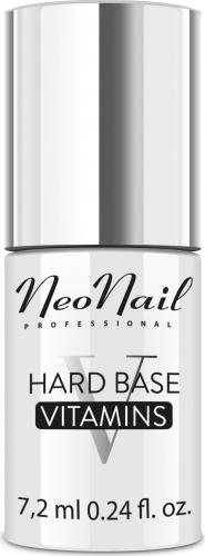 NeoNail - HARD BASE VITAMINS - Witaminowa baza pod lakier hybrydowy - 7,2 ml
