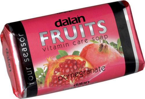 Dalan - Fruits Vitamin Care Soap - Witaminowe mydło w kostce - Granat