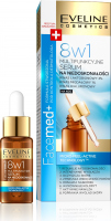 EVELINE - FaceMed + Multifunctional serum for imperfections 8in1 for night use - 18 ml
