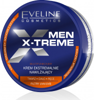 Eveline Cosmetics - MEN X-TREME - Strongly moisturizing face, body and hand cream for men - 200 ml