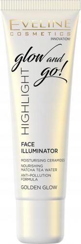 Eveline Cosmetics - Glow and Go! Highlighter - Rozświetlacz do twarzy