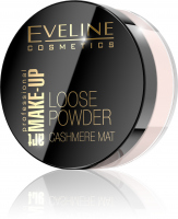 EVELINE - ART MAKE-UP - LOOSE POWDER - Mattifying face powder - 02 Beige