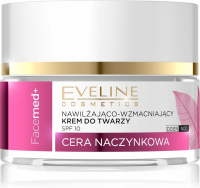 EVELINE - FaceMed + Moisturizing and strengthening face cream for capillaries - Day / Night - 50 ml