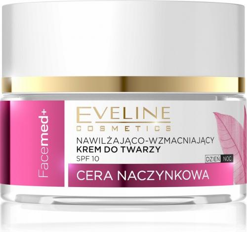 EVELINE - FaceMed + Nawilżająco-wzmacniający krem do twarzy dla cery naczynkowej - Dzień/Noc - 50 ml