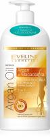 EVELINE - ARGAN OIL BALM - Ujędrniająco-nawilżający balsam do ciała z olejkiem arganowym i makadamia - 350 ml