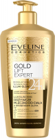 Eveline Cosmetics - Gold Lift Expert 24K - Nourishing body lotion with gold particles - 350 ml