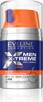 EVELINE - MEN X-TREME POWER - Moisturizing anti-fatigue gel cream for men - 50 ml