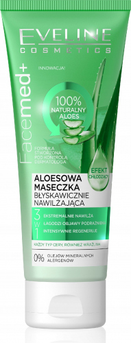 EVELINE - FaceMed + Aloesowa maseczka do twarzy - 50 ml