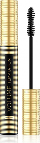 EVELINE - VOLUME TEMPTATION MASCARA - Pogrubiający tusz do rzęs - Black