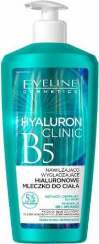 EVELINE - HYALURON CLINIC B5 - Nawilżająco-wygładzające hialuronowe mleczko do ciała - 350 ml