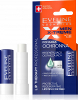 EVELINE - LIP THERAPY PROFESSIONAL - MEN X-TREME Active Care - Protective regenerating and refreshing lipstick with menthol for men