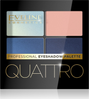 EVELINE - QUATTRO - Professional Eyeshadow Palette - Palette of 4 eye shadows