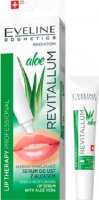 EVELINE - LIP PROFESSIONAL REVITALLUM ALOE LIP SERUM - Głęboko nawilżające serum do ust z aloesem - 8 ml