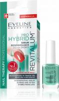 EVELINE - NAIL THERAPY PROFESSIONAL - PRO HYBRID REVITALUM - Serum regenerujące do paznokci w trakcie i po hybrydach - 12 ml
