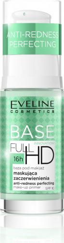 EVELINE - FULL HD BASE - Baza pod makijaż na zaczerwienienia - SPF10 - 30 ml