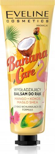 EVELINE - Banana Care - Wygładzający balsam do rąk - Banan - 50 ml