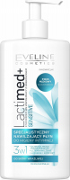 EVELINE - LactiMed + SENSITIVE - A specialized, moisturizing intimate hygiene fluid for sensitive skin - 250 ml