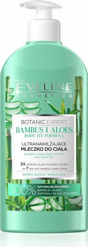 EVELINE - BOTANIC EXPERT - BODY TONIC FORMULA - Ultra nawilżające mleczko do ciała - Aloes i Bambus