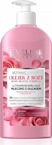 EVELINE - BOTANIC EXPERT - Ultraregenerujące mleczko do ciała z olejkiem różanym - 350 ml