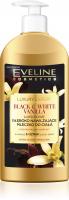 EVELINE - LUXURY EXPERT - BLACK & WHITE VANILLA BODY MILK - Głęboko nawilżające mleczko do ciała - Wanilia