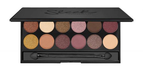 Sleek - i-Divine Mineral Based Eyeshadow Palette - Paleta 12 cieni do powiek - 3 AM