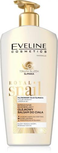 EVELINE - ROYAL SNAIL - Intensywnie regenerujący balsam do ciała ze śluzem ślimaka - 350 ml