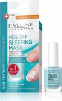 Eveline Cosmetics - NAIL THERAPY PROFESSIONAL - PEEL OFF SLEEPING MASK - Odbudowująco-odżywcza maska do paznokci Peel Off