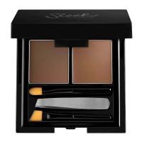 Sleek - Brow Kit - Zestaw do stylizacji brwi - MEDIUM 821 - MEDIUM 821