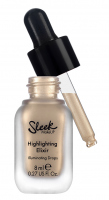 Sleek - Highlighting Elixir - Illuminating Drops - Płynny rozświetlacz